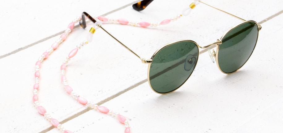 DIY: Make your own sunglasses straps