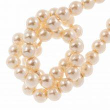 DQ Glass Pearls (2 mm) Tangerine (150 pcs)