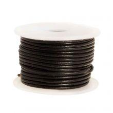 DQ Leather Regular (1 mm) Black (10 Meter)