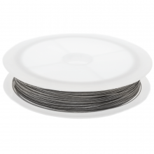 Tiger Tail Wire (0.35 mm) Silver (25 meter)
