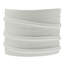 Faux Suede Cord (3 mm) White (5 Meter)
