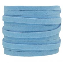 Faux Suede Cord (5 mm) Baby Blue (5 Meter)