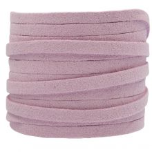 Faux Suede Cord (5 mm) Lilac (5 Meter)