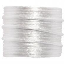 Nylon Cord (2 mm) White (15 Meter)