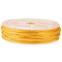 Nylon Cord (2 mm) Honey Yellow (15 Meter)