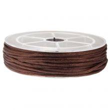 Nylon Cord (1.5 mm) Dark Brown (15 Meter)