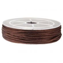 Nylon Cord (2 mm) Dark Brown (15 Meter)