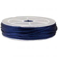 Nylon Cord (1.5 mm) Dark Blue (15 Meter)
