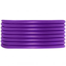 Rubber Cord (3 mm) Perfect Purple (5 Meter) hollow inside