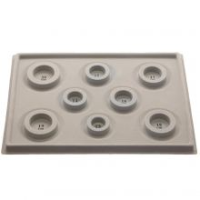 Bead Design Board  (Grey) 1 pcs