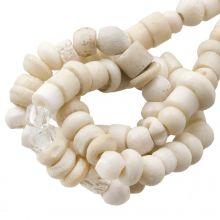 Bead Mix - Bone Beads (4 x 2 mm) Natural (150 pcs)