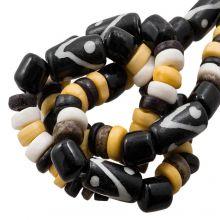Bead Mix - Bone Beads (7 x 3 mm) Native (45 pcs)