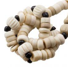 Bead Mix - Bone Beads (9 x 3 mm) Desert (85 pcs)