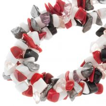 Bead Mix - Glass Beads Chips (12 - 5 mm) Abstract (170 pcs)