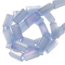 Electroplated Glass Beads (4 x 2 mm) Cornflower (100 pcs)