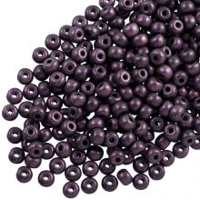 DQ Seed beads (3 mm) Dark Purple (25 Gram / 600 pcs)
