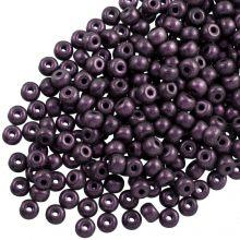 DQ Seed beads (4 mm) Dark Purple (25 Gram / 350 pcs)