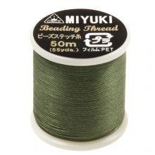 Miyuki Thread (50 Meter) Pine Green