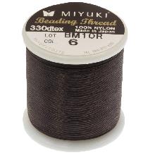 Miyuki Thread (50 Meter) Brown
