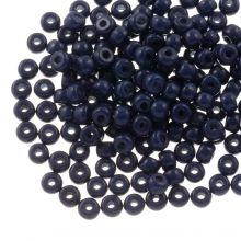 DQ Seed Beads (3 mm) Indigo Blue (25 Gram / 600 pcs)