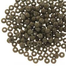 DQ Seed beads (4 mm) Moss Brown (25 Gram / 350 pcs)
