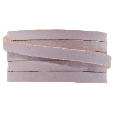 DQ Flat Leather (5 x 2 mm) Lilac (1 Meter)