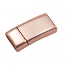 Magnetic Clasps (hole size 10 x 3 mm) Rose Gold (1 pcs)