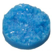 Druzy Cabochon (14 mm) Blue (5 pcs)