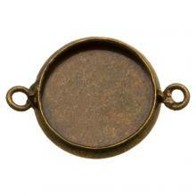 Setting 2 Eyelets (12 mm) Bronze (5 pcs)
