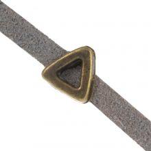 Slider (hole size 3 x 1.8 mm) Bronze (10 pieces)