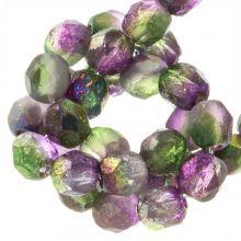 DQ Fire Polished Beads (Magic Orchid) 6 mm (25 pcs)