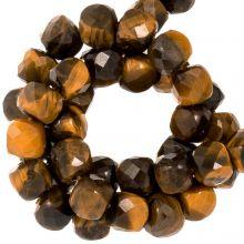 Tiger Eye Beads (5 x 5 mm) 70 pcs