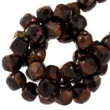 Red Tiger Eye Beads (5 x 5 mm) 70 pcs