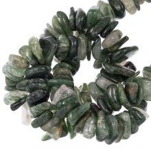 Rutilated Quartz Beads (11 - 17 x 9 - 11 x 2 - 4 mm) 120 pcs