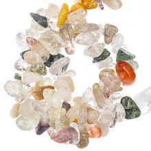 Gemstone Chips Rutilated Quartz (5 - 10 mm) 180 pcs