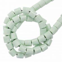 Agate Beads Colored (4.5 x 4.5 mm) Mint Green (90 pcs)