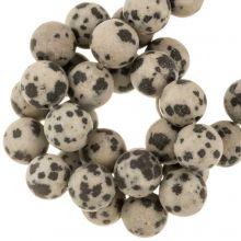 Dalmatian Jasper Beads (6 mm) 60 pcs