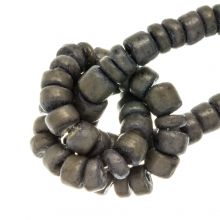 Coconut Beads (4 - 5 mm) Grey Taupe (110 pcs)