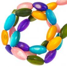 Shell Beads (11 x 5 mm) Mix Color (40 pcs)