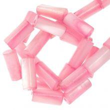 Shell Beads (10 x 4 mm) Pink (36 pcs)