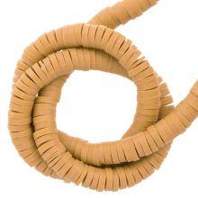 Polymer Clay Beads (4 x 1 mm) Caramel (350 pcs)