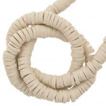 Polymer Clay Beads (4 x 1 mm) Khaki (350 pcs)