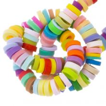 Polymer Clay Beads (4 x 1 mm) Mix Color Bright (300 pcs)