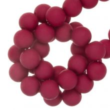 Acrylic Beads Mat (4 mm) Dark Hot Pink (1900 pcs)