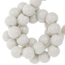 Acrylic Beads (8 mm) Greige (100 pcs)