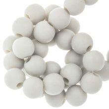Acrylic Beads Mat (6 mm) Greige (100 pcs)