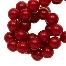 Acrylic Beads (10 mm) Red (90 pcs)