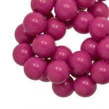 Acrylic Beads  (12 mm) Candy Pink (54 pcs)