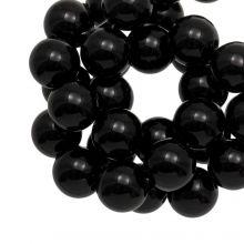 Acrylic Beads (12 mm) Black (50 pcs)