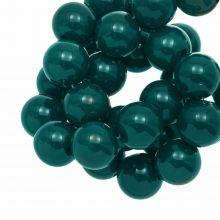 Acrylic Beads (12 mm) Dark Teal (54 pcs)